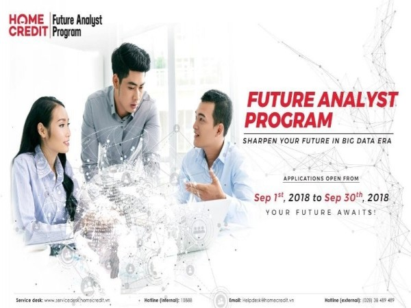 Future Analyst Program at Home Credit