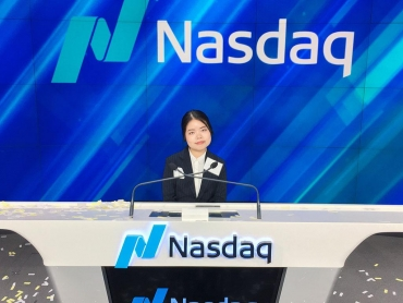 Keuka College student rings NASDAQ opening bell